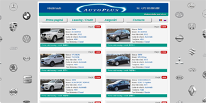 Automobile sale ads website - Auto Plus